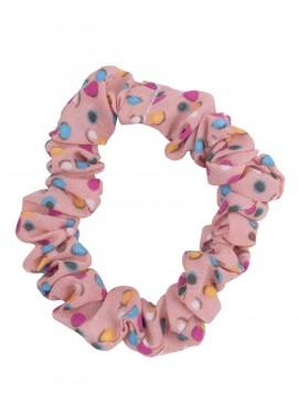 Crunchie med forskellige farvede prikker