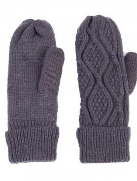 mørke grå handsker