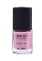 lyserød neglelak