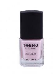 Pastel lyserød neglelak