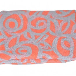 grå/pink tørklæde