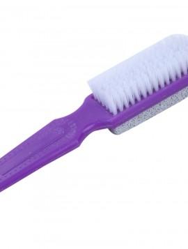 børste med fil og børste.