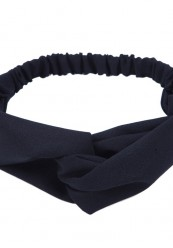 """sort hårbånd med"""" knude """" foran."""