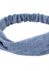 grå hårbånd i bomuld