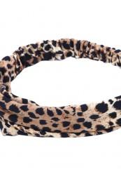bllødt leopard hårbånd