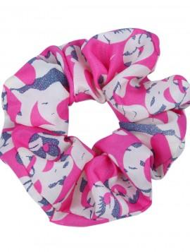 scrunchie i pink print