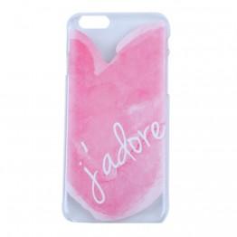 Cover i lyserød til iPhone 6