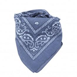 Grå bandana med print