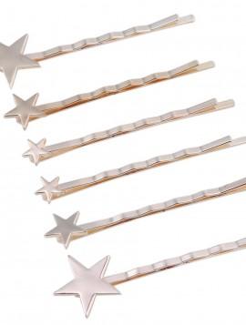 spænder i guldlook med stjerner.