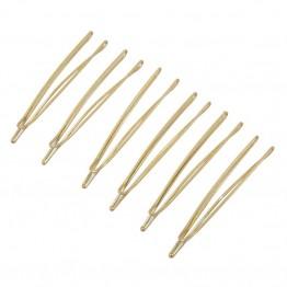 Image of   6 stk hårnåle i guldlook