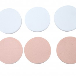 Image of   6 stk bløde make-up pads.