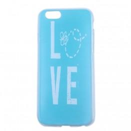 Blå silikone cover