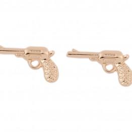 Pistol ørestikkere.i guldlook.