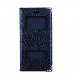 Cover i sort snakelook med plads til kort.