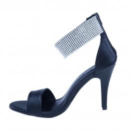 Flot sandal med simili på ankel rm.