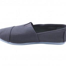 Koksgrå gårdsanger sko i canvas
