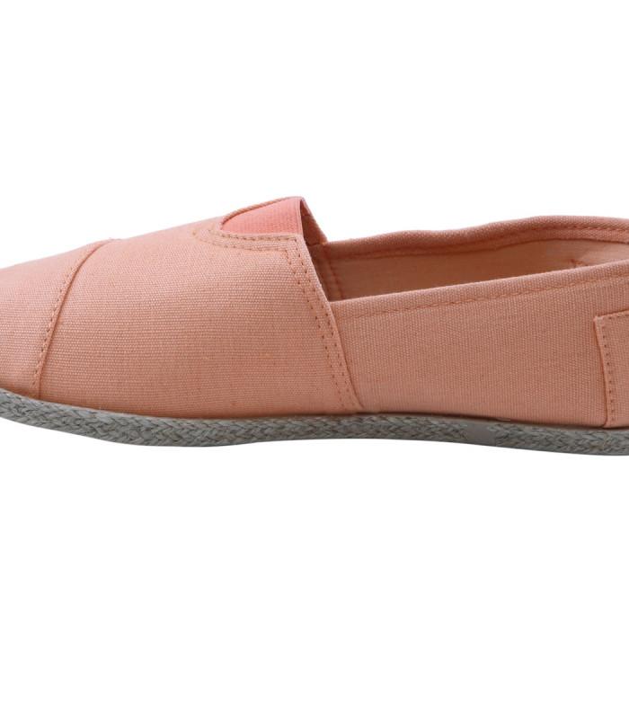 Sort gårdsanger sko i canvas.