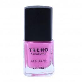 Lyserød/pink neglelak.