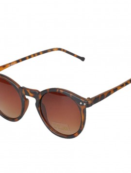 Solbrille i leopard.