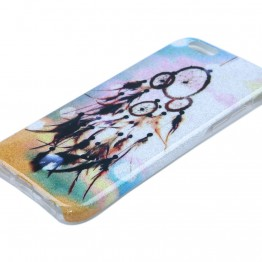 Glimmer cover til iphone 6 med drømme fanger.