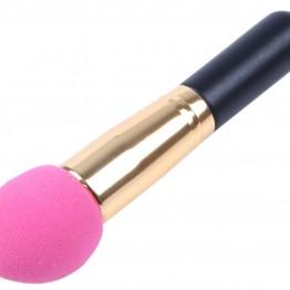 Spong børste i pink.