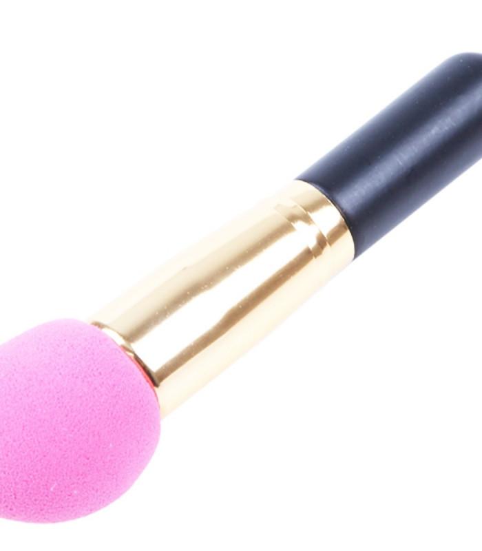 Spong børste i lyserød.