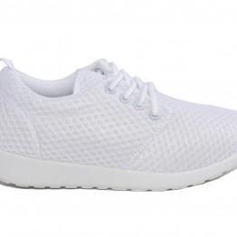 Sneakers i hvid.