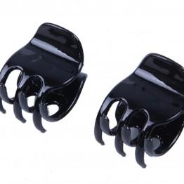 Image of   2 stk sorte næb spænder.