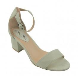 Stilet sandal i midi højde