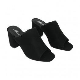 Slip heel sandal