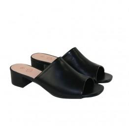 Sort slip in sandal
