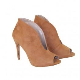 Støvle med åben front