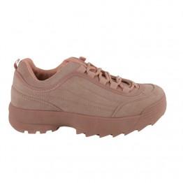 Rosa chunky sneaker