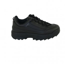 Sort chunky sneakers