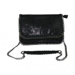 Lille taske med kæderem