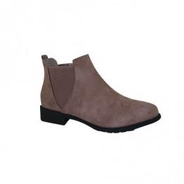 Enkel khaki støvle