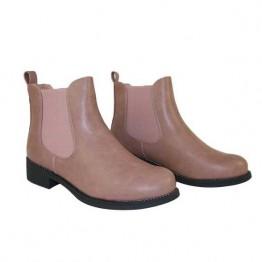Rosa støvle med simili