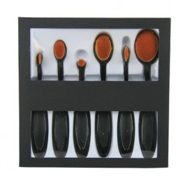 Oval Make-up Brush Kit
