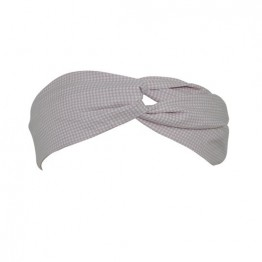 Image of   Beige hårbånd med små kryds