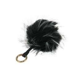 Fake fur key chain