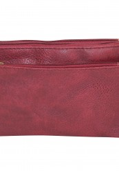 Clutch som kan bruges som taske