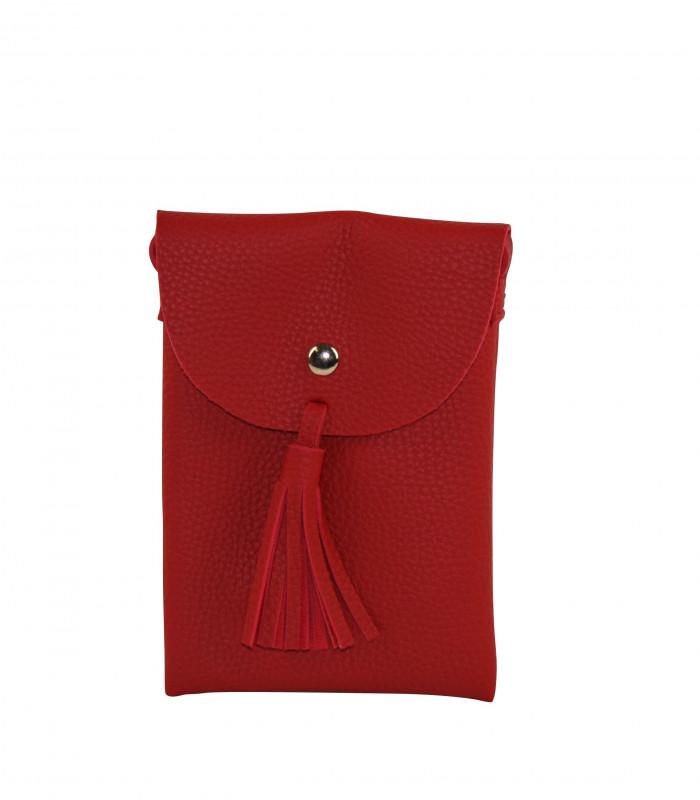 Lille taske med kvast