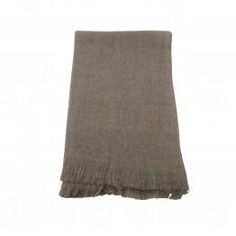 Halstørklæde i uld lignende materiale