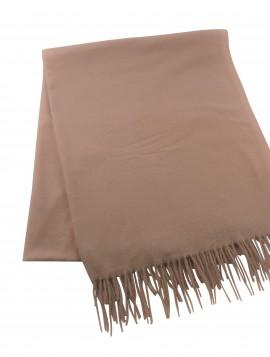 Lækkert hasltørklæde i blødt materiale