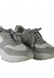 Grå og hvid sneakers