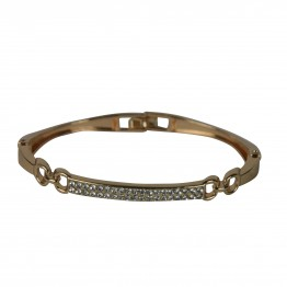 Flot enkelt simili armbånd i guld look