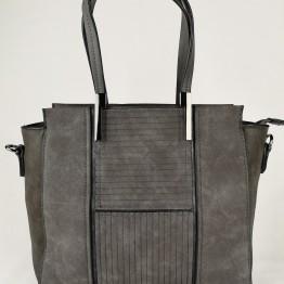 Fin fast taske i mørkegrå
