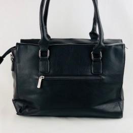 Stor håndtaske i PU materiale.