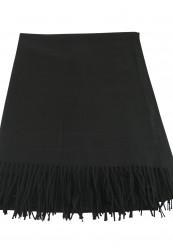 Sort hals tørklæde