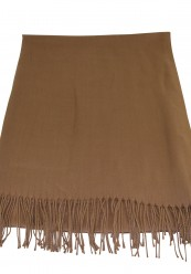 Camel farvet halstørklæde